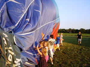 Hot Air Balloon Ride in Michigan