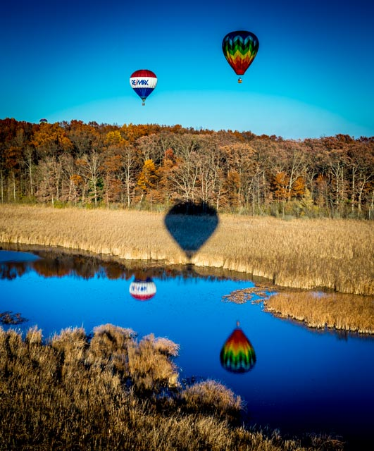 Hot Air Balloon Rides in Michigan