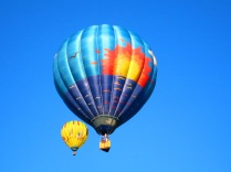 Westwind Balloon Flies in the Blue Skies